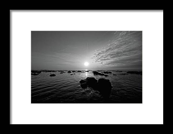 Beach Framed Print featuring the photograph Low Tide 2 by Steve DaPonte