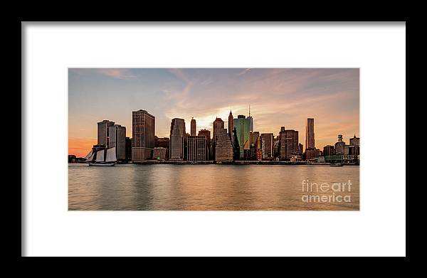 Usa Framed Print featuring the photograph Lower Manhatten by Paul Hennell