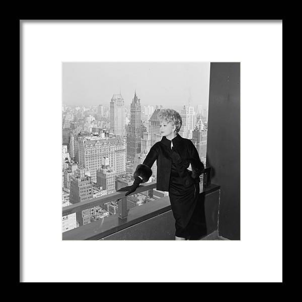 Apartment Framed Print featuring the photograph Lucille Ball by Hulton Archive