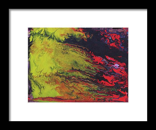 Fusionart Framed Print featuring the painting Magical Sky by Ralph White