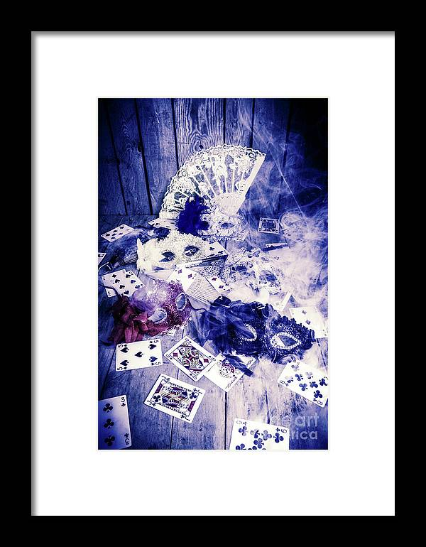 Poker Framed Print featuring the photograph Make Out Like A Bandit by Jorgo Photography - Wall Art Gallery
