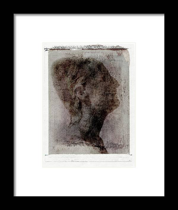 Man Looking Up Side View Framed Print By Win Initiative