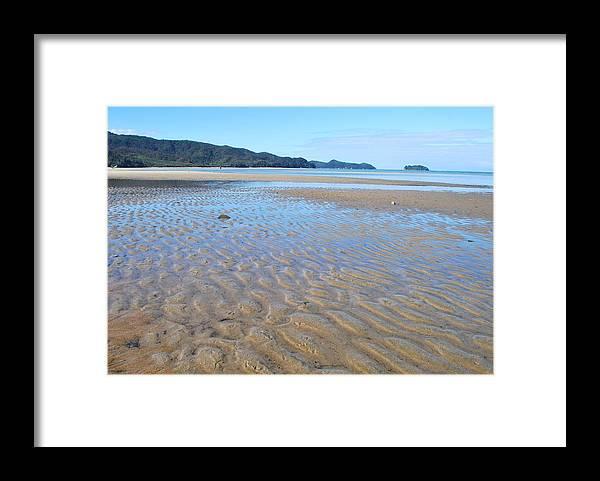 Scenics Framed Print featuring the photograph Marahau Beach, The Abel Tasman National by Lazingbee