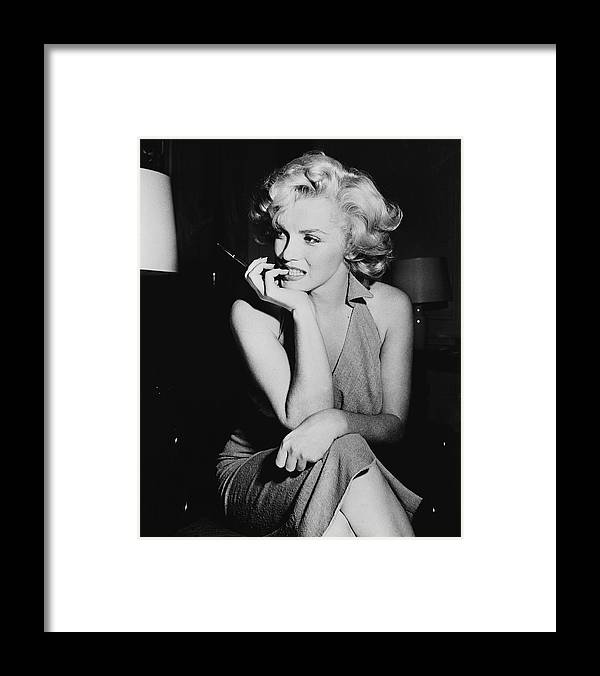 Marilyn Monroe Framed Print featuring the photograph Marilyn Monroe by Keystone Features