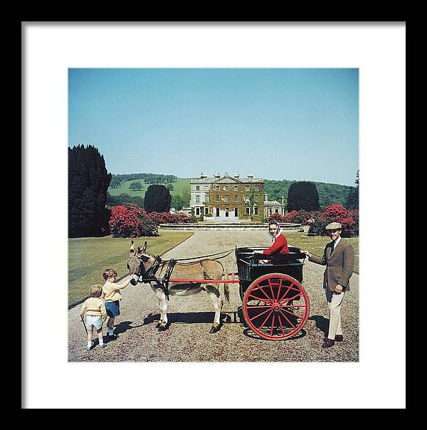 Child Framed Print featuring the photograph Marquess Of Waterford by Slim Aarons