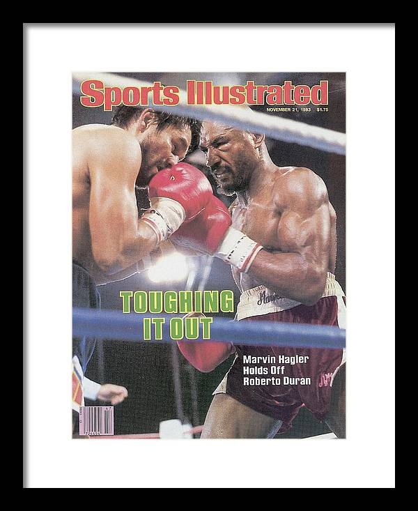 1980-1989 Framed Print featuring the photograph Marvelous Marvin Hagler, 1983 Wbcwbaibf Middleweight Title Sports Illustrated Cover by Sports Illustrated
