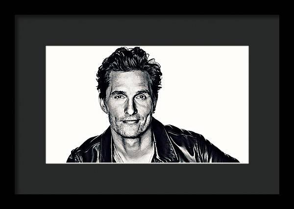 Matthew McConaughey by Queso Espinosa