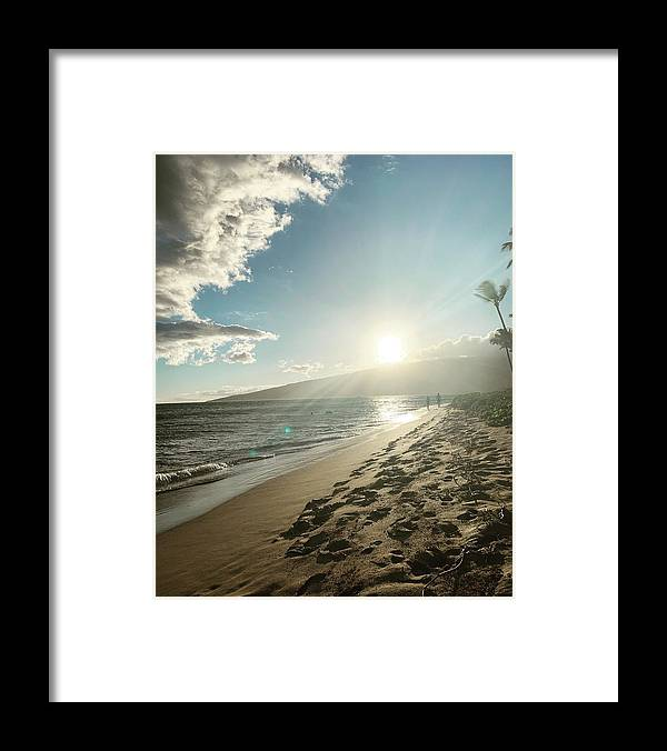 Hawaii Framed Print featuring the photograph Maui by Kristin Rogers