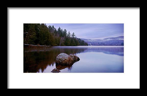 Scenics Framed Print featuring the photograph Meech Lake by Justin Van Leeuwen