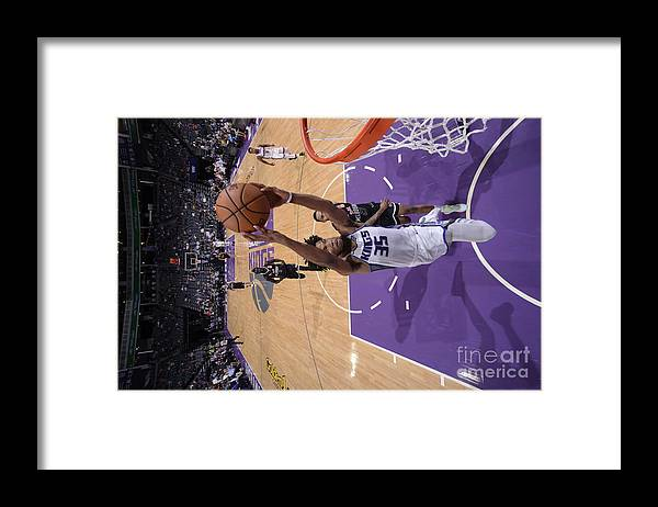 Nba Pro Basketball Framed Print featuring the photograph Melbourne United V Sacramento Kings by Rocky Widner