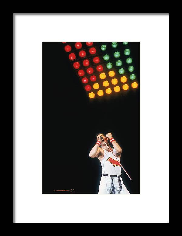 Singer Framed Print featuring the photograph Mercury At Milton Keynes by Keystone