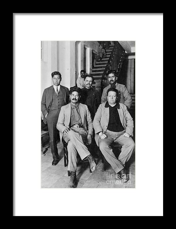 Mexico City Framed Print featuring the photograph Mexicos Presidential Candidates by Bettmann