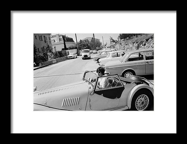 Mick Jagger Framed Print featuring the photograph Micks Morgan by Reg Lancaster