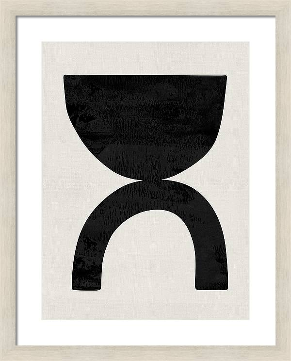 Mid Century Abstract V by Naxart Studio