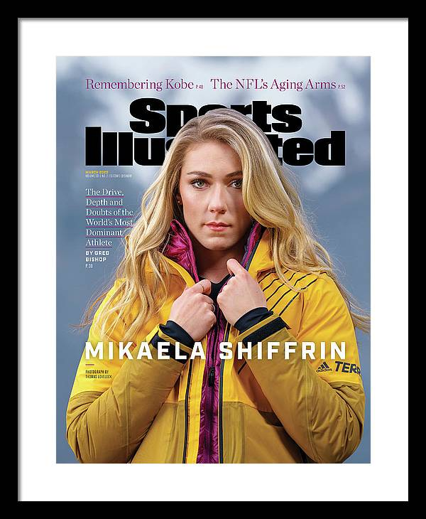 Skiing Framed Print featuring the photograph Mikaela Shiffrin, Sports Illustrated, March 2020 Sports Illustrated Cover by Sports Illustrated