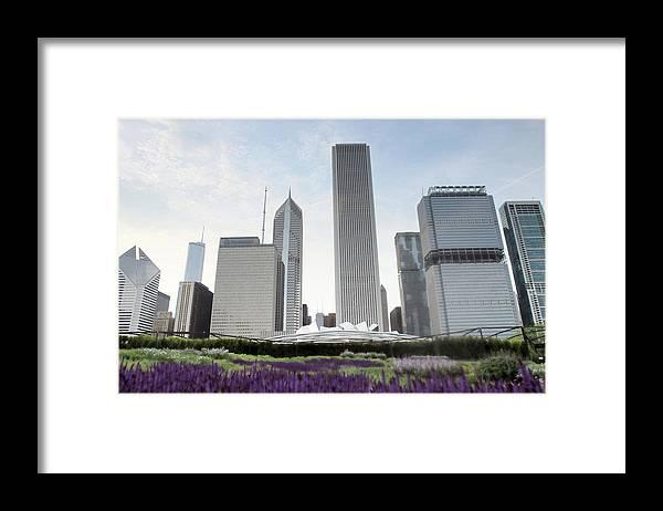 Millennium Park Framed Print featuring the photograph Millennium Park by By Ken Ilio