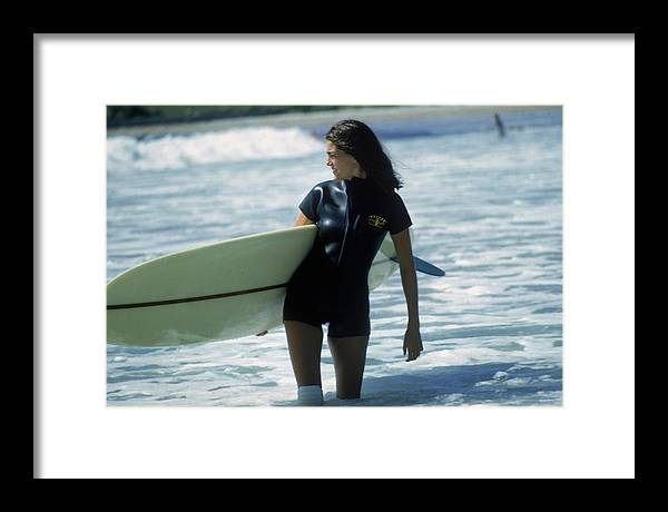 Child Framed Print featuring the photograph Minnie Cushing by Slim Aarons