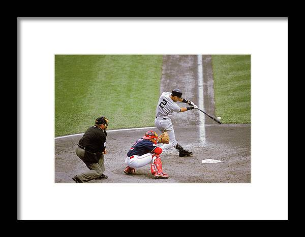 People Framed Print featuring the photograph Mlb Photos Archive by John Reid Iii