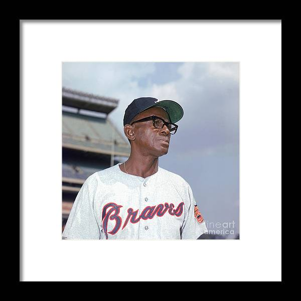 Baseball Pitcher Framed Print featuring the photograph Mlb Photos Archive by Lou Requena