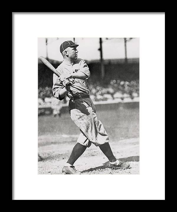 Home Base Framed Print featuring the photograph Mlb Photos Archive by Major League Baseball Photos