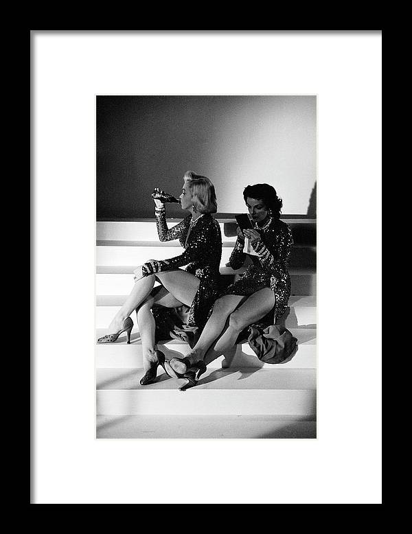 Timeincown Framed Print featuring the photograph Monroe & Russell by Ed Clark