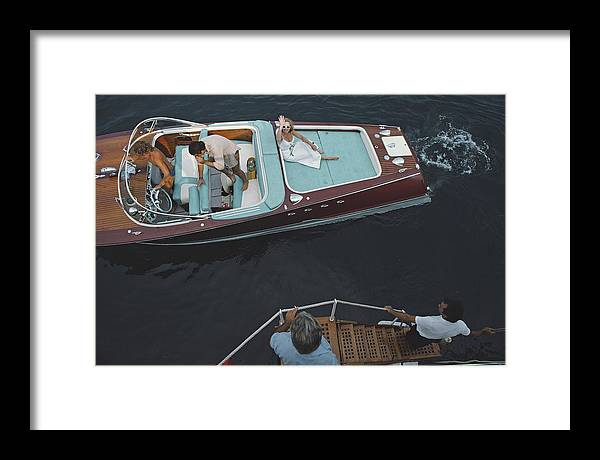 People Framed Print featuring the photograph Monte Carlo by Slim Aarons
