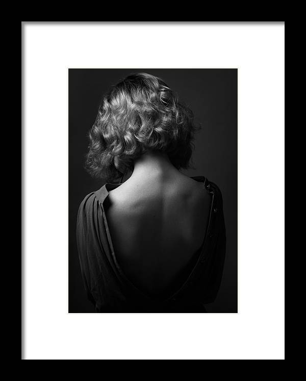 Behind Framed Print featuring the photograph Mood Of The Soul by Boris Belokonov