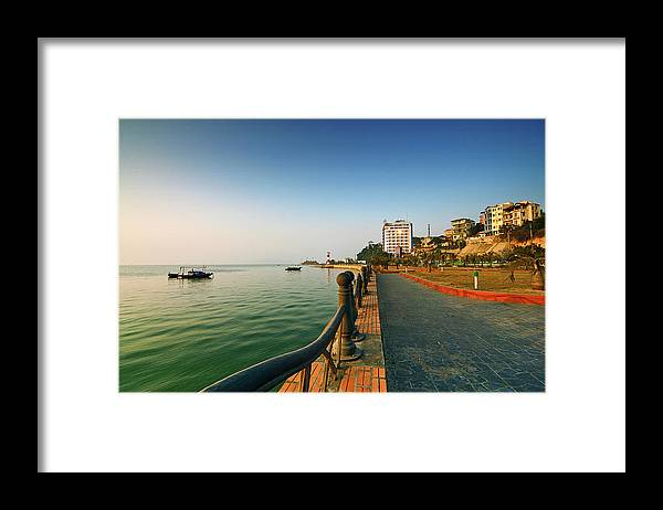 Dawn Framed Print featuring the photograph Morning Of Halong Bay by Andy Tan