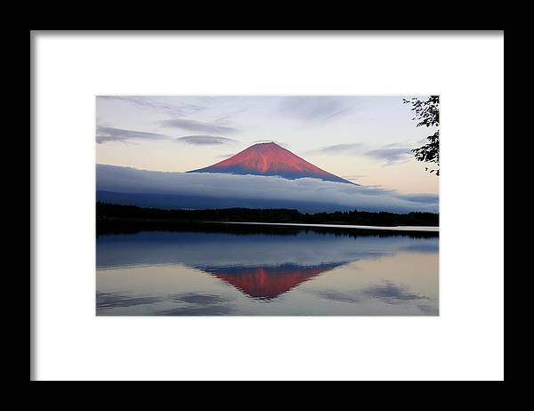 Scenics Framed Print featuring the photograph Mount Fuji by Japan From My Eyes