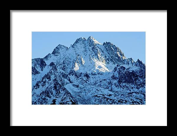 Scenics Framed Print featuring the photograph Mountain by Yorkfoto