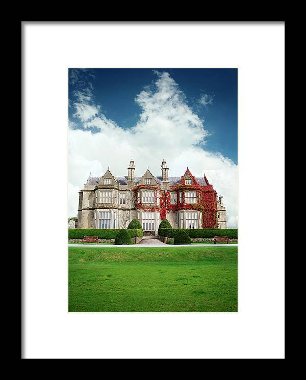 Grass Framed Print featuring the photograph Muckross House by Narvikk