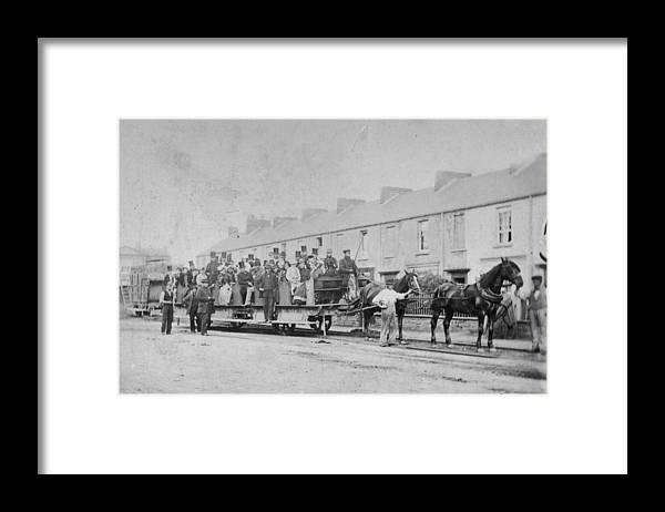 Horse Framed Print featuring the photograph Mumbles Train by Hulton Archive