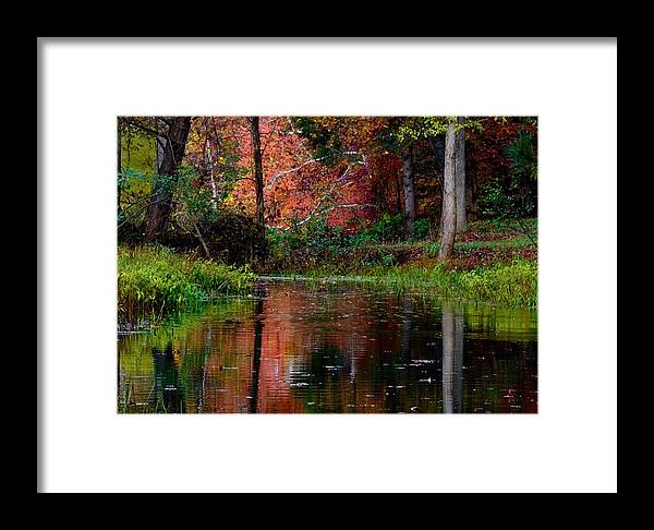 Landscape Framed Print featuring the photograph My Secret Place by Kristi Swift