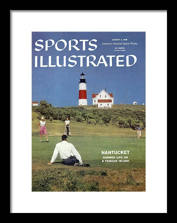 Magazine Cover Framed Print featuring the photograph Nantucket Island Golf Sports Illustrated Cover by Sports Illustrated