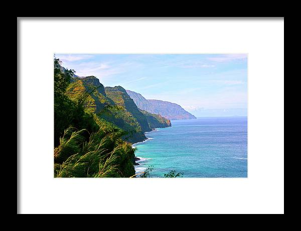 Nā Pali Coast State Park Framed Print featuring the photograph Napali by Sean M. Murphy Photography