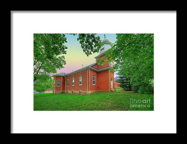 Explore Framed Print featuring the photograph Nativity Of The Virgin Mary by Larry Braun