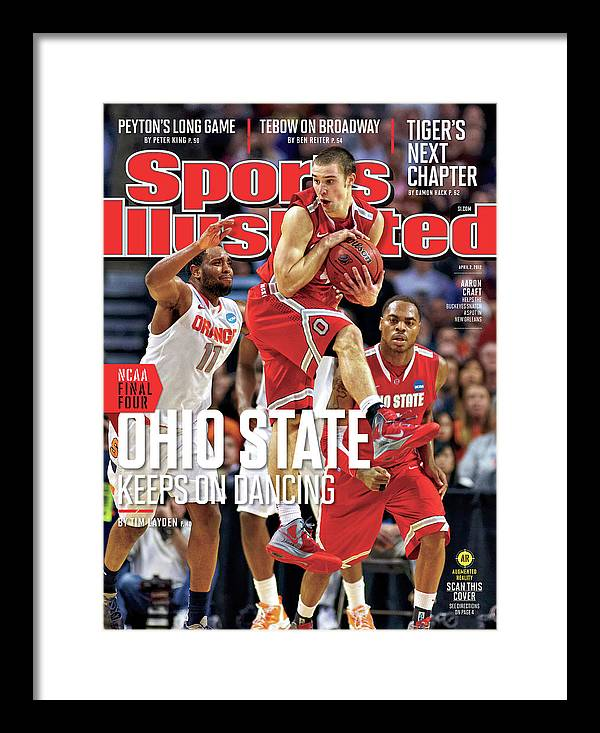 Magazine Cover Framed Print featuring the photograph Ncaa Basketball Tournament - Regionals - Boston Sports Illustrated Cover by Sports Illustrated