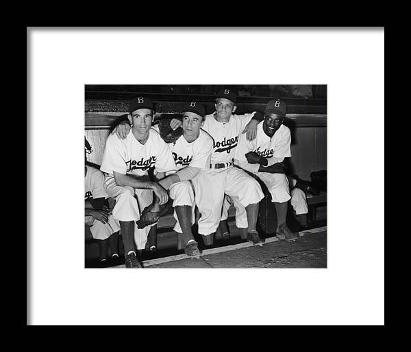 People Framed Print featuring the photograph New Dodger by Fpg