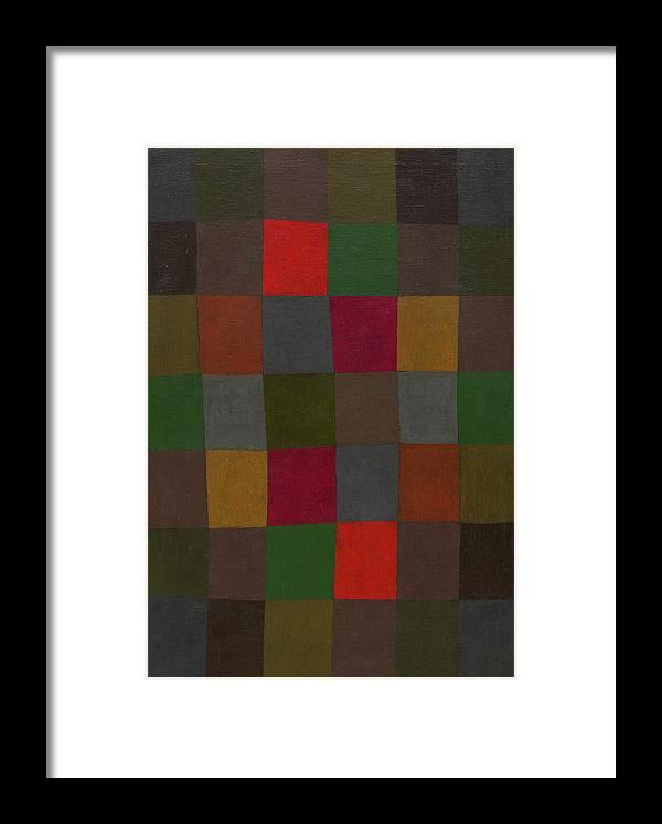 Paul Klee Framed Print featuring the painting New Harmony - Neue Harmonie, 1936 by Paul Klee