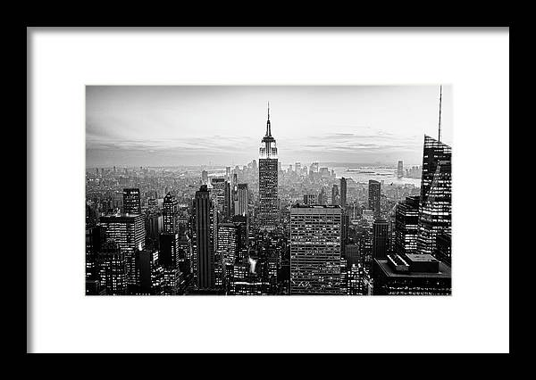 Outdoors Framed Print featuring the photograph New York City by Randy Le'moine