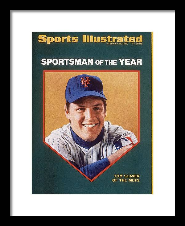 Tom Seaver Framed Print featuring the photograph New York Mets Tom Seaver Sports Illustrated Cover by Sports Illustrated