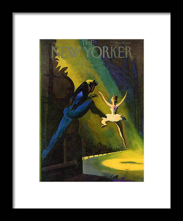 Concert Framed Print featuring the painting New Yorker November 3, 1951 by Arthur Getz