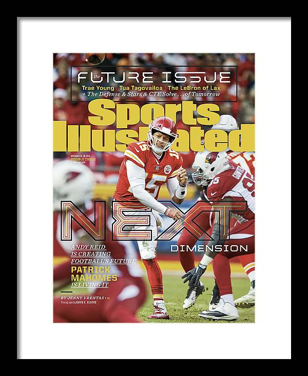 Magazine Cover Framed Print featuring the photograph Next Dimension Andy Reid Is Creating Footballs Future Sports Illustrated Cover by Sports Illustrated
