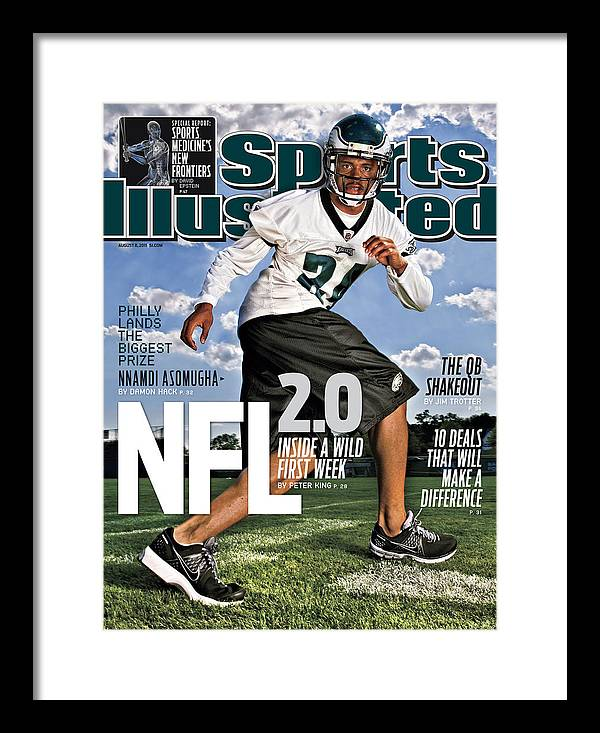 Magazine Cover Framed Print featuring the photograph Nfl 2.0 Inside A Wild First Week Sports Illustrated Cover by Sports Illustrated