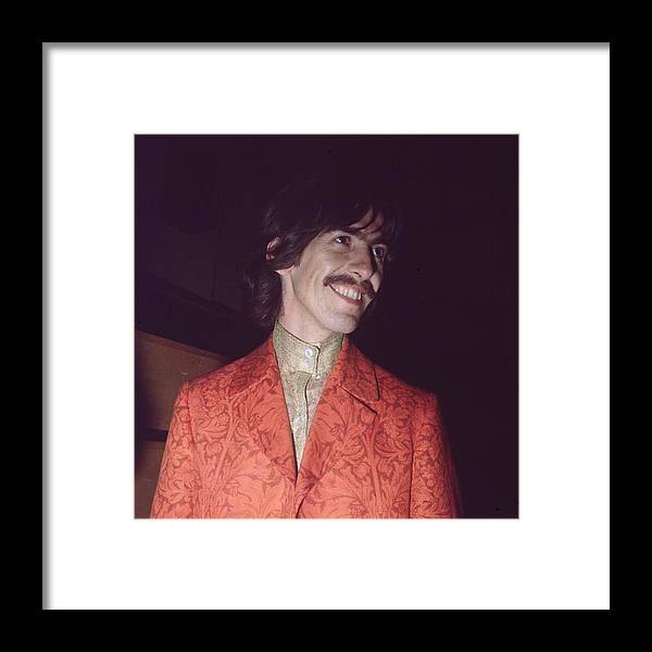 George Harrison Framed Print featuring the photograph Nice Jacket George by John Williams