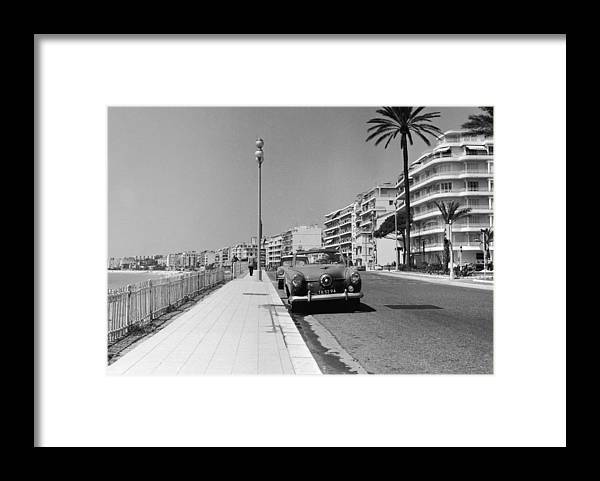 Scenics Framed Print featuring the photograph Nice Seafront by Fpg