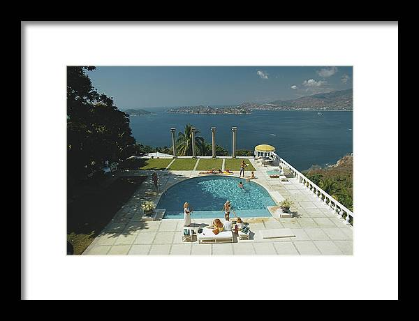 Child Framed Print featuring the photograph Nirvana by Slim Aarons