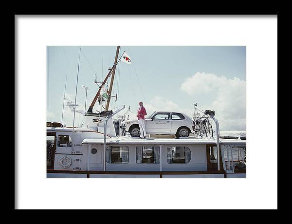 1980-1989 Framed Print featuring the photograph No Transport Problems by Slim Aarons