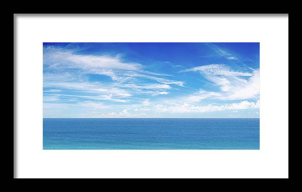 Scenics Framed Print featuring the photograph Ocean View Panorama Xxxl by Turnervisual