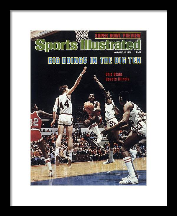 Sports Illustrated Framed Print featuring the photograph Ohio State University Carter Scott Sports Illustrated Cover by Sports Illustrated